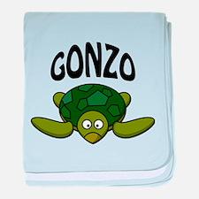 Gonzo baby blanket
