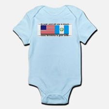 USA Guatemala Unite Infant Creeper