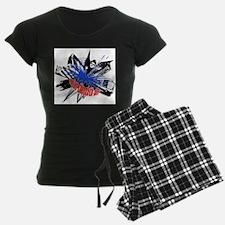 Manchester Outline - Black Pajamas