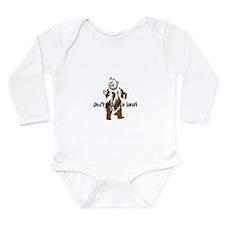 Poke the bear Long Sleeve Infant Bodysuit