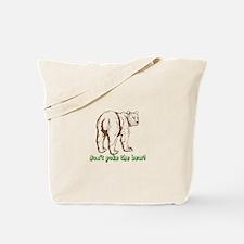 Cool Poke the bear Tote Bag
