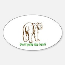 Cute Teen terrible twos Sticker (Oval)
