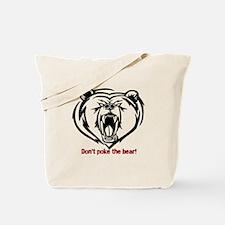 Cute Poke the bear Tote Bag