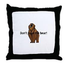 Cute Attitude Throw Pillow