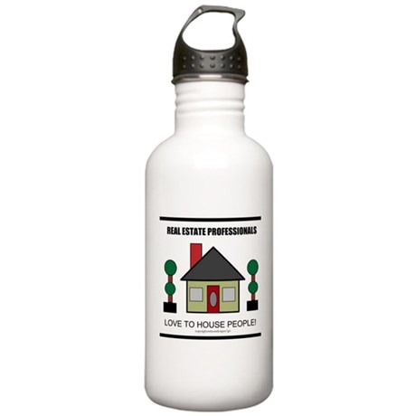 Real Estate Professionals Lov Stainless Water Bott