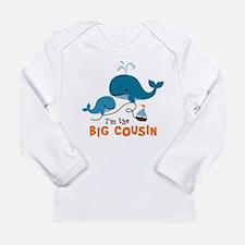 Big Cousin - Whale Long Sleeve Infant T-Shirt