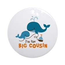 Big Cousin - Whale Ornament (Round)