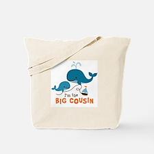 Big Cousin - Whale Tote Bag