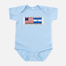 USA - El Salvador Unite! Infant Creeper