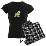 American Cocker Spaniel Women's Dark Pajamas