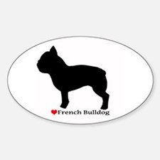 French Bulldog Silhouette Decal