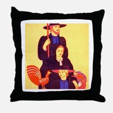 Amish Throw Pillow