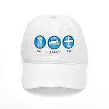 Eat Sleep Fly II Baseball Cap