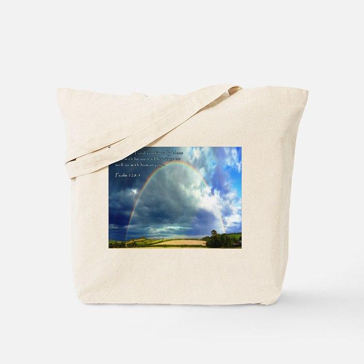 Psalm 128:5 Tote Bag