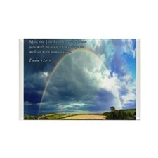 Psalm 128:5 Rectangle Magnet