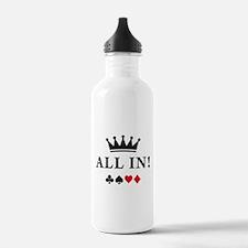 Unique Texas hold em Water Bottle
