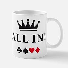 Unique Texas hold em Mug