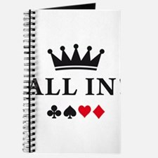 Cute Ace of hearts Journal