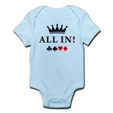 Cute Texas hold em Infant Bodysuit