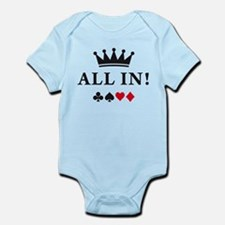 Unique Texas hold em Infant Bodysuit