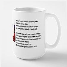 Live your life Large Mug