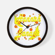 Hannah Banana Wall Clock