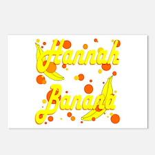 Hannah Banana Postcards (Package of 8)