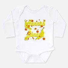 Hannah Banana Long Sleeve Infant Bodysuit