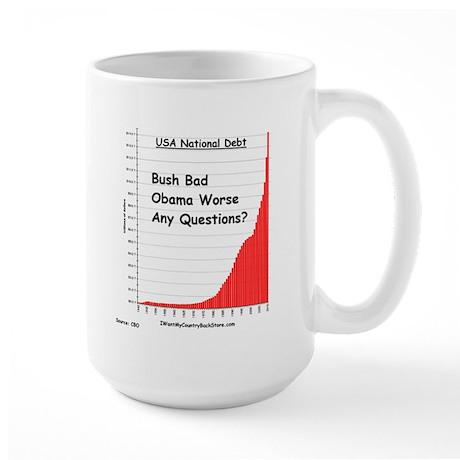 debtBush4 Mugs