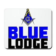 Blue Lodge Mousepad