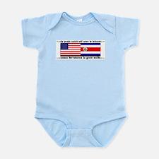 USA - Costa Rica unite!!! Infant Creeper