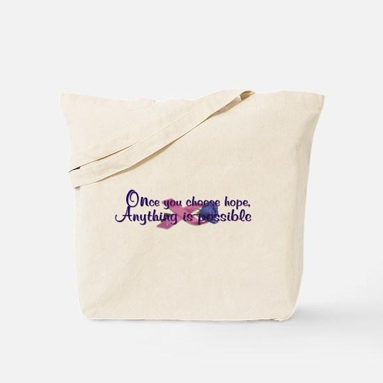 Choose Hope Tote Bag