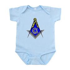 Unique Masonic lodge Infant Bodysuit