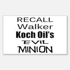 Walker: Koch's Evil Minion Decal