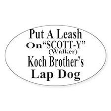 Walker: Koch Bros LapDog Decal