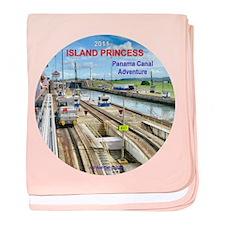 Island Princess - baby blanket