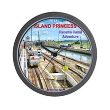 Island Princess - Wall Clock
