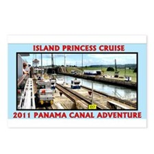Island Princess - Postcards (Package of 8)