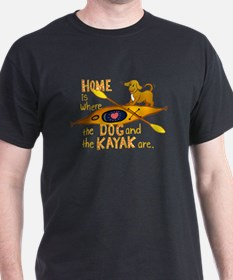 Dog and Kayak T-Shirt
