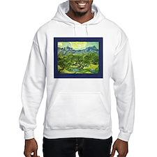 Van Gogh Olive Trees Hoodie
