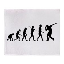Hip Hop Evolution Throw Blanket