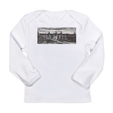 Van Gogh Windmills Long Sleeve Infant T-Shirt
