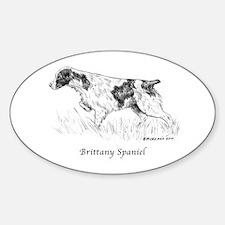 Brittany Spaniel Decal