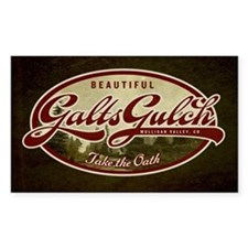 Galt's Gulch Decal
