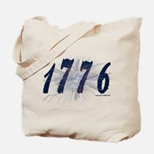Cute 1776 america was founded on a tax revolt Tote Bag