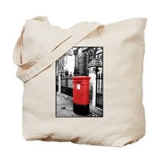 Red Letterbox Tote Bag