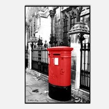 Red Letterbox Postcards (Package of 8)