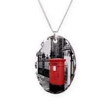Red Letterbox Necklace
