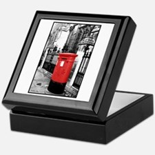 Red Letterbox Keepsake Box