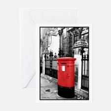 Red Letterbox Greeting Cards (Pk of 20)